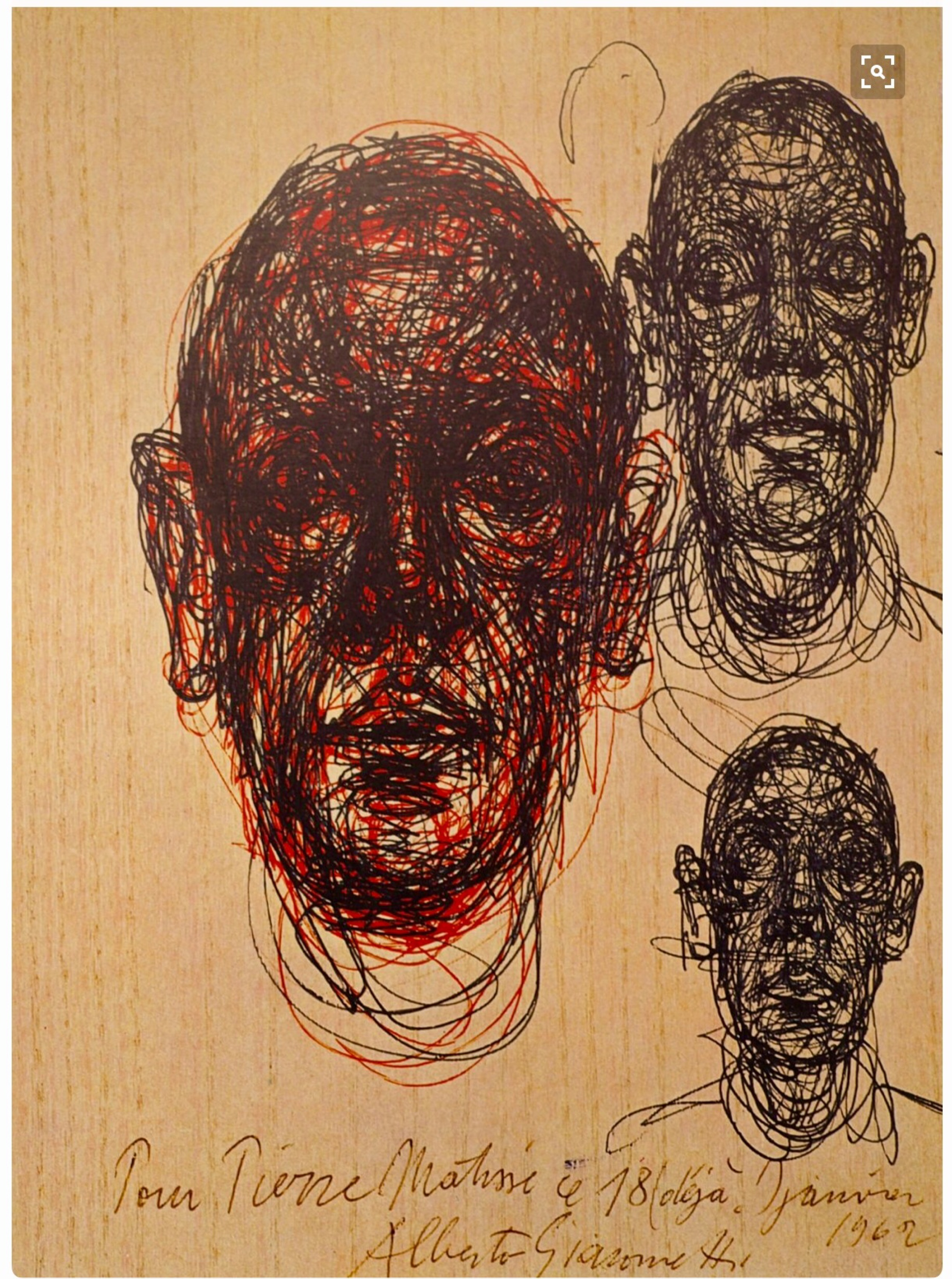 Line Drawing Artist Research : Giacometti sketch book page and random drawing efforts